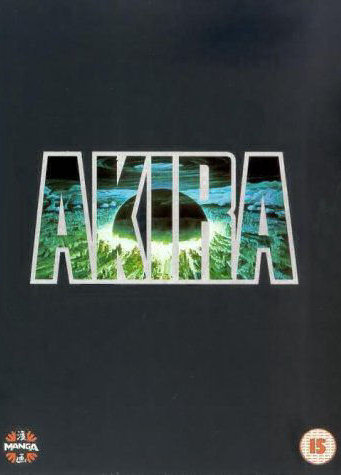Akira uk special edition dvd.